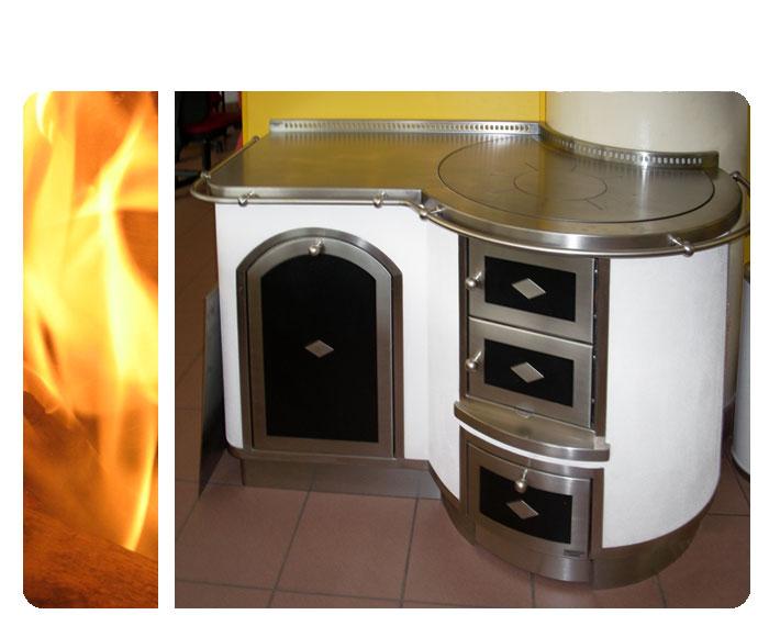 Cucine economiche a legna nordica prezzi idee creative e for Cucine pertinger