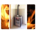 Cucina con forno e piastra in vetroceramica; installata a Spilimbergo (PN)