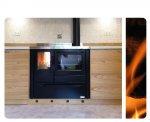 Installazione con ventilazione forzata epresa d'aria esterna in locialità Flagogna di Forgaria (UD)